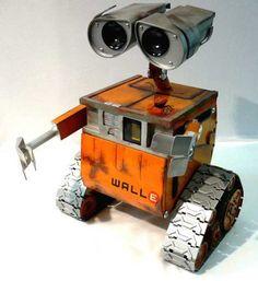 Wall-E Computer Case Mod.  I love this mod.