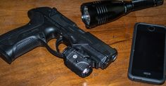 Turn Your Handgun Into An Effective Home Defense Tool, Why not add a light and laser to your nightstand gun?