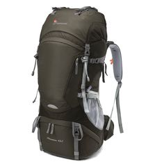 Mountaintop NEW] Internal Frame Backpack Water-resistant Hiking Backpack Backpacking Trekking Bag for Climbing,camping,hiking,Travel and Mountaineering with Rain >>> You will love this! More info here : Womens hiking backpack Camping And Hiking, Hiking Gear, Tent Camping, Camping Bags, Family Camping, Camping Gear, Travel Backpack, Backpack Bags, Backpack Camping