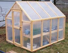6'10 x 8'0 Greenhouse Plans PDF Version by rjterry on Etsy