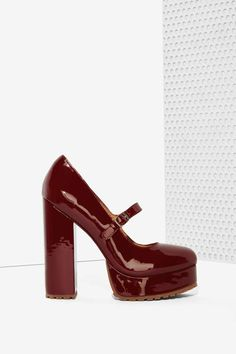 Jeffrey+Campbell+Adorlee+Patent+Leather+Platform+|+Shop+Shoes+at+Nasty+Gal!