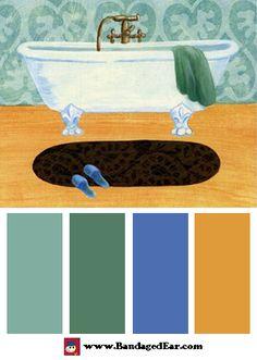 Bathroom Color Palettes