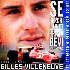 #memoriambook #gillesvilleneuve #ferrari #f1 #formula1 #villeneuve #piloti #limitless