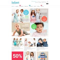 Kids Fashion Bootstrap Magento Theme