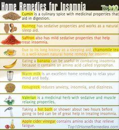 Home Remedies For Insomnia #Home #Garden #Trusper #Tip