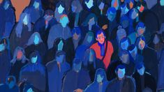 Holly Warburton - A Face in the Crowd Kunst Inspo, Art Inspo, Art And Illustration, Art Sketches, Art Drawings, Ecole Art, Wow Art, Pretty Art, Art Sketchbook