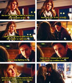 3x16 Deacon and Rayna. Love this scene.