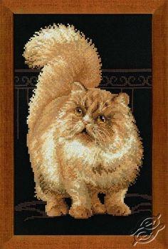 The Persian Cat - Cross Stitch Kits by RIOLIS - 1152