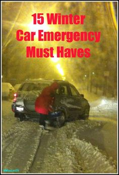 15 Winter Car Emergency Kit Must Haves - Babble Good list from a friend