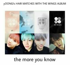 Yeah, but BTS confirmed that's that's all a coincidence  so...