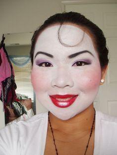 mulan makeup - Google Search
