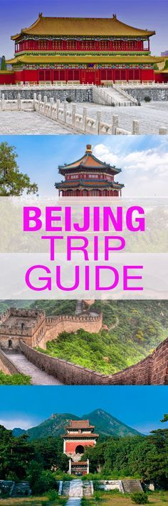 Guide to traveling Beijing
