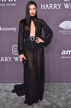 Is There Anything Adriana Lima Can't Rock on the Red Carpet? Answer: No