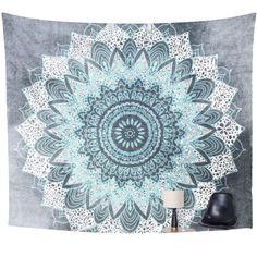 Tapestry | Chalky Blue Mandala