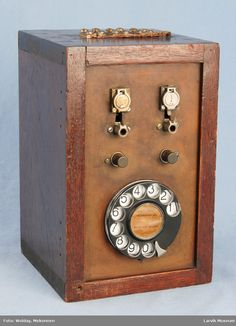 DigitaltMuseum - Pluggfelt Telephone, Landline Phone, Phone, Phones