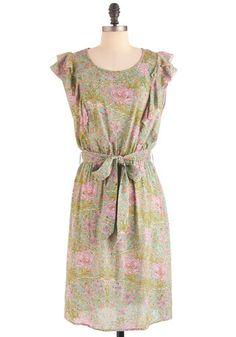 10. In the garden dress - via Modcloth. #modcloth#makeitwork