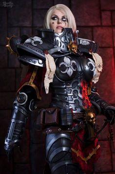 Sister of Battle - Warhammer by Kinpatsu-Cosplay on DeviantArt Warhammer 40k Memes, Warhammer Art, Warhammer 40k Miniatures, Warhammer Fantasy, Warhammer Armies, Best Cosplay, Anime Cosplay, Cosplay Girls, Awesome Cosplay