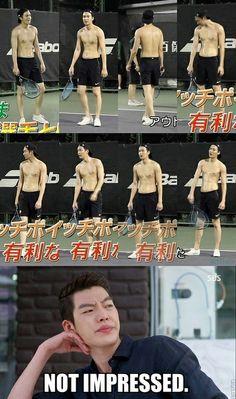 Lee Min Ho and Kim Woo Bin ♡ #Kdrama // The #HEIRS. Hahaha