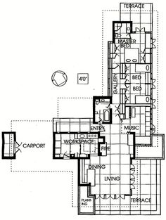 exceptional-usonian-house-plans-3-frank-lloyd-wright-house-floor ...