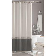 Classic! Wamsutta® Greek Key Hotel Shower Curtain