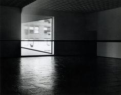 Just saw this today--amazing! Robert Irwin: Scrim veil—Black rectangle—Natural light, Whitney Museum of American Art, New York (1977)