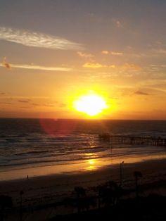 Sunrise in Daytona Beach,FL