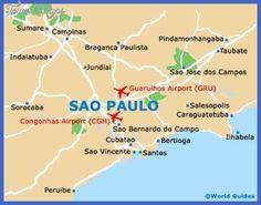 Awesome Sao Paulo Map Tours Maps Pinterest Sao Paulo - Map of sao paulo