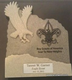 Would make a great Eagle Scout invitation