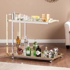 Harper Blvd Ramona Bar Cart | Overstock.com Shopping - The Best Deals on Kitchen Carts