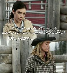 Heartland is my life. Amber& my spirit animal, so you& be seeing a lot of her! Hope you. Heartland Georgie, Heartland Actors, Amy And Ty Heartland, Heartland Quotes, Heartland Ranch, Heartland Tv Show, Heartland Seasons, Super Mad, Heart Land