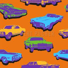 MOTORIZED – Car driving in the style of pop art is the new trend at the Design-Kiosk. Kiosk, New Trends, Nerf, Pop Art, Pattern Design, Sci Fi, Decor, Style, Patterns