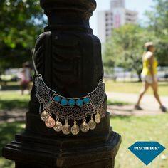 Um sábado azul pra você  #pinchbeck #maxicolar #sábado