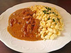 Sahne - Gyros mit Spätzle, ein beliebtes Rezept aus der Kategorie Pasta & Nudel. Bewertungen: 40. Durchschnitt: Ø 4,2.