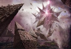 """""""Hedron Fields of Agadeem"""" by Vincent Proce for Magic: The Gathering"""