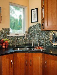 12 Ways To Rethink Your Kitchen Backsplash