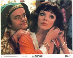 """Joan Collins in """"The Devil Within Her"""" (1975)"""