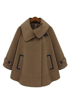 Cloak long-sleeved overcoat