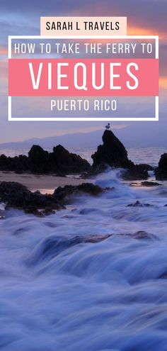 It's cheap to get to Vieques, Puerto Rico from the main island, so why not see this beautiful destination? Use this guide to help you plan a trip to Vieques! Peru Travel, Mexico Travel, Usa Travel, Travel Guides, Travel Tips, Travel Destinations, Cruise Vacation, Vacation Trips, Latin America