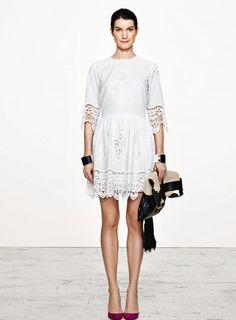 Gorgeous lace dress from Danish fashion diva Malene Birger
