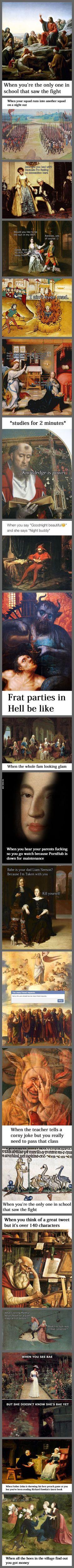 Classical Art Memes Latest (Part-13)