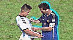 Momen Mengahrukan Lionel Messi & Cristiano Ronaldo Dalam Dunia Sepak Bola