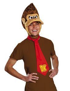 Donkey Kong Adult Costume Kit - 375478 | trendyhalloween.com