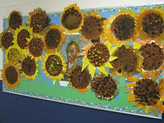 Art in the Big Green Room - awesome idea for van gogh