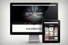 Schubkraft Studios website by christianperner.com