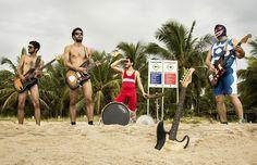 Banda pernambucana apresenta seu novo EP, com mistura de surf music e ritmos latinos