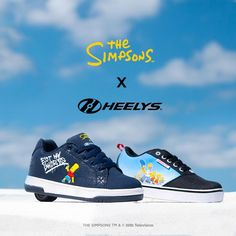 The Simpsons X Heelys return with new styles available for kids and adults. #SimpsonsXHeelys #NewRelease Shoe Releases, The Simpsons, Sneakers Nike, Things To Sell, Kids, Collection, Shoes, Style, Fashion