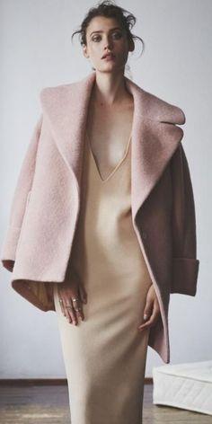 Blush Neutrals + Minimal Cut