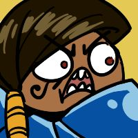 Overwatch Pharah artwork / icon,'