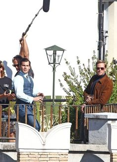 Henry Cavill - 'The Man from U.N.C.L.E.' Films in Rome