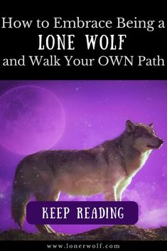 Being a lone wolf means being a warrior. It means standing up for what you believe in and courageously walking into the wild unknown. Are you being called? Spiritual Awakening Stages, Spiritual Healer, Spiritual Quotes, Awakening Quotes, Spiritual Enlightenment, Spiritual Path, Spiritual Growth, Wolf Spirit, Spirit Animal